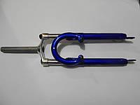Вилка 26 алюминиевая без резьбовая под дисковый тормоз и вибрейк 1,8 дюймов
