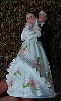 Свадебная статуэтка на торт 12 см (33) белая
