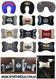 Подушка сувенирная в машинус логотипом Mercedes мерседес, фото 9