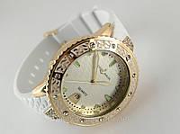 Часы женские - Ulysse Nardin - Star на каучуковом ремешке, белые, фото 1