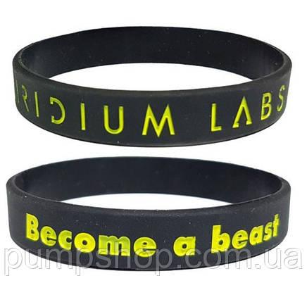 Силиконовый браслет IRIDIUM LABS Become A Beast, фото 2
