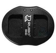 Зарядное устройство USB для 2-х акумуляторных батарей Sony NP-FV50 / NP-FH50 / NP-FP50.