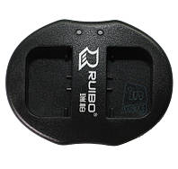 Зарядное устройство USB для 2-х акумуляторных батарей Sony NP-FV50 / NP-FH50 / NP-FP50, фото 1