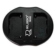 Зарядное устройство USB для 2-х акумуляторных батарей Sony NP-F550 / NP-FM50 / NP-FM500H, фото 1