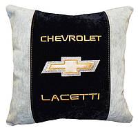 Подушка в машину сувенирная  шевроле Chevrolet