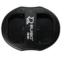 Зарядное устройство USB для 2-х акумуляторных батарей Canon LP-E6.