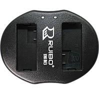 Зарядное устройство USB для 2-х акумуляторных батарей Canon LP-E8.