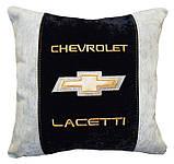 Автомобільна Подушка з логотипом шевроле Chevrolet, фото 3