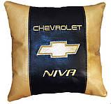 Автомобільна Подушка з логотипом шевроле Chevrolet, фото 4