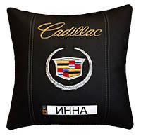 Подушка автомобильная с логотипом Cadillac, фото 1