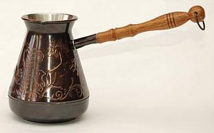 Кофейная турка медная 500мл