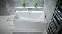 Ванна BESCO INFINITY 150x90 права з панелькою та ніжками