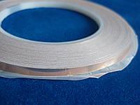 Медная лента фольга 5мм 30м на клейкой основе, термостойкая, самоклеющаяся