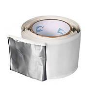 Бутилкаучуковая лента LT/FA (аллюминий) 50x1.5 мм (рулон 20 м.п.)