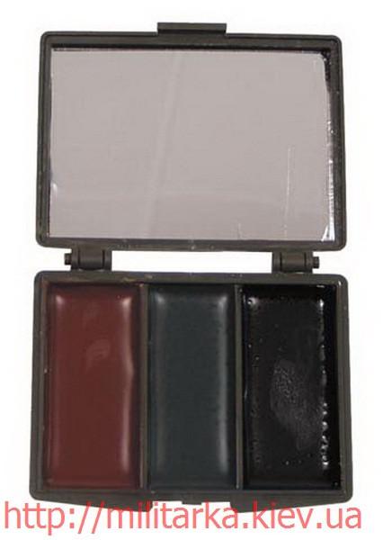 Грим для лица MFH 3 цвета с зеркалом
