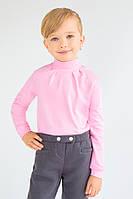 Детский нарядный гольф для девочки (розовый)