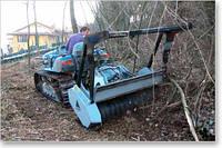 UML/LOW Лесной мульчер с ротором с фиксированными резцами для тракторов от 60 до 110 л.с.