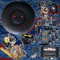 Комплект Stag qmax plus 6 цилиндров, редуктор KME Gold, форсунки Hana, фильтр. Баллон тороидальный 53л+Мульт