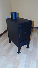 """Буржуйка """"Трёшка"""", сталь 3мм (дровяная печь), фото 3"""
