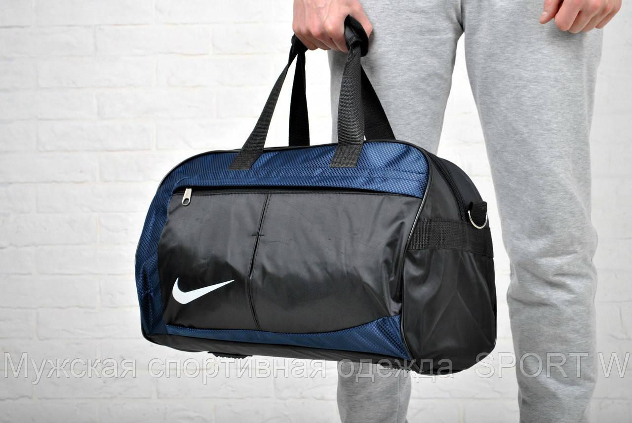 3975b5be Спортивная сумка Nike черно-синяя - Мужская спортивная одежда SPORT W в  Запорожье