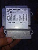 Блок управления аирбегом 1K0 909 605 AA, датчик airbag Шкода октавия А5  , фото 1