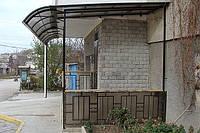 Изготовление навесов в Севастополе. Навесы из поликарбоната в Севастополе и Ялте