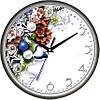"""Настенные часы 300Х300Х45мм """"Новогодний подарок"""" [Пластик, Под стеклом]"""