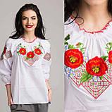Красивая вышитая блуза , фото 3