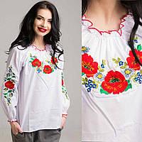 Красивая вышитая блуза