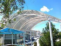 Навесы в Севастополе. Изготовление и монтаж в Севастополе и Ялте