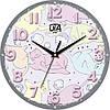 """Настенные часы в детскую комнату 240Х240Х30мм """"Прованс"""" [МДФ, Открытые]"""