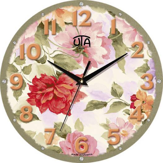 "Часы настенные в стиле кантри 240Х240Х30мм ""Прованс"" [МДФ, Открытые]"