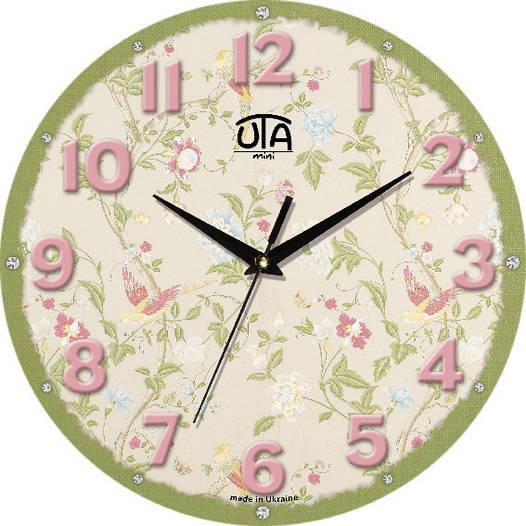 "Настенные часы в стиле прованс 240Х240Х30мм ""Прованс"" [МДФ, Открытые]"