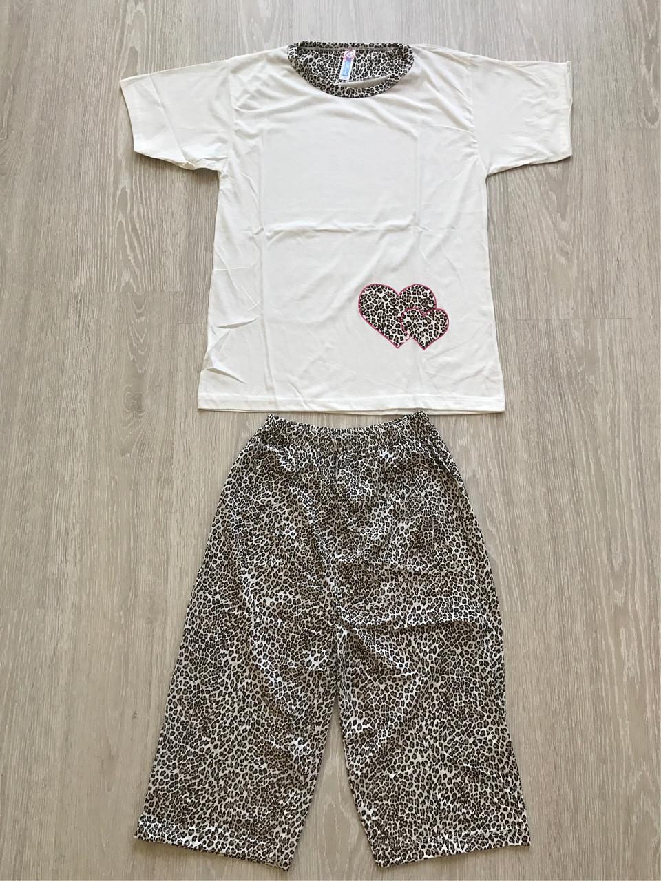 Женская пижама Asma Леопард капри  продажа 87f1dfa42cdab