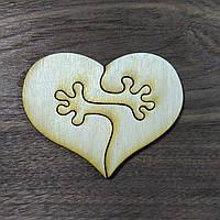 Сердце-руки Валентинка 10см*8см