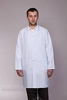 Классический белый мужской медицинский халат