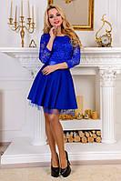 Платье коктейльное с пышной юбкой  Бэби р 42,44,46