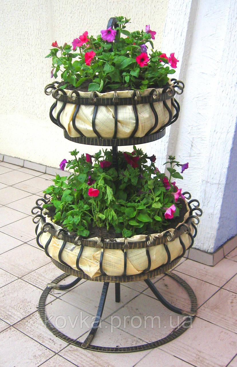 Кованая подставка для вазона
