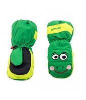 Перчатки Kombi ANIMAL FARM Bob the Frog зеленый размер M