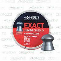Пули JSB Exact Jumbo Diabolo 5,5 мм 1,030 г 250 шт/уп