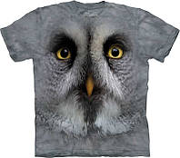 3D футболка The Mountain GREAT GREY OWL FACE