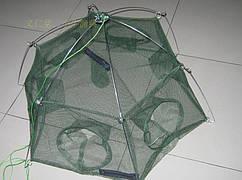 Раколовка шестигранник 100см на 6 входов ,хорошего качества