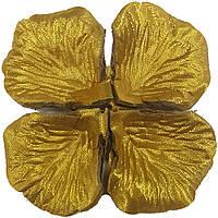 Лепестки роз золотые №6 свадебные