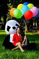 Большая плюшевая Панда размер 200см ТМ My Best Friend (Украина) черно-белый