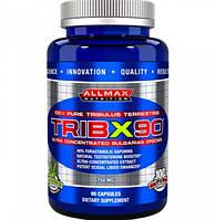 Повышающий тестостерон ALLMAX Trib X 90 - 90 caps