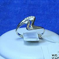 Родированное серебряное кольцо кс 71, фото 1