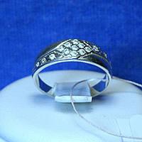 Кільце з цирконом зі срібла кс 108