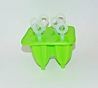 Форма силиконовая для мороженого на 6шт с палочками