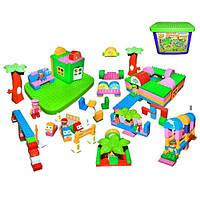 Конструктор Детская площадка ТМ DOLONI (Долони)  172 дет.