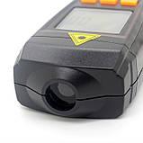 Безконтактний лазерний тахометр BENETECH GM8905 (50-500 мм) (2.5-99999RPM) з запам'ятовуванням MAX, MIN, LAST, AVG, фото 6
